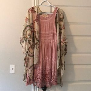 Sweaters - Dress and shawl